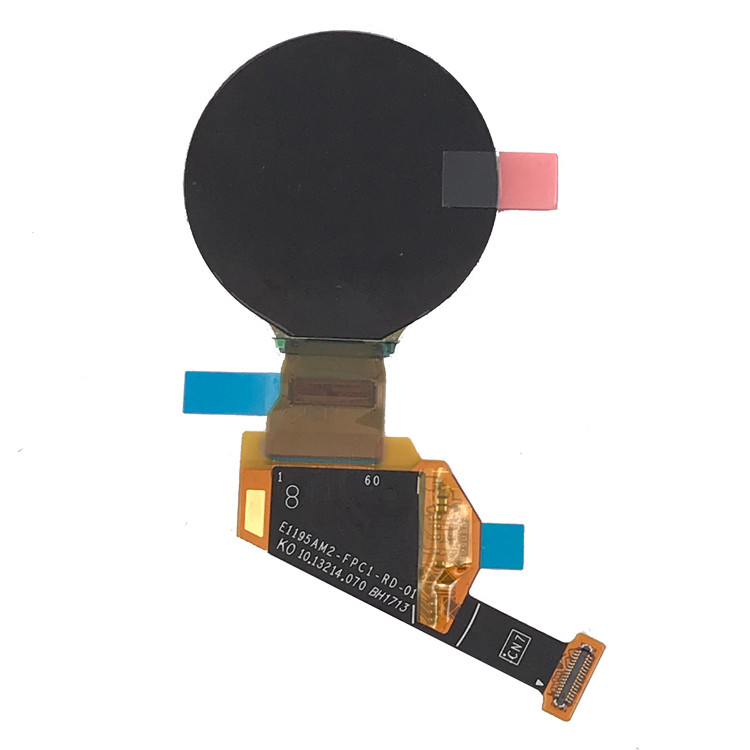 Watch AMOLED Round OLED Display Module With Mipi Interface 390 X 390