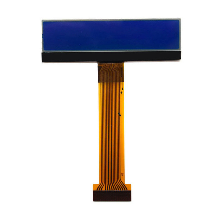 BLUE Color 25632 LCD Display For Electronic Scale , Serial Interface
